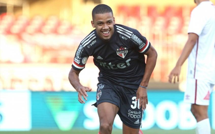 Comemoração Brenner - São Paulo x Fluminense