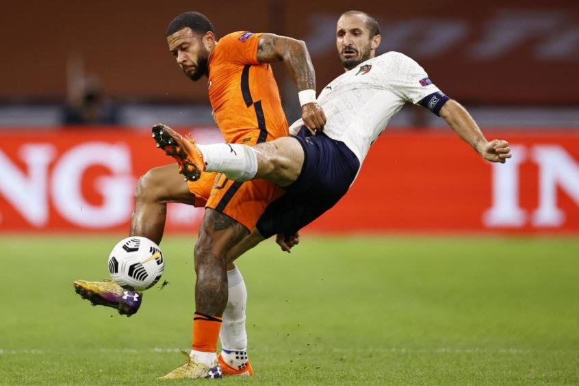 Jogando Fora De Casa Italia Vence A Holanda Pela Liga Das Nacoes Lance