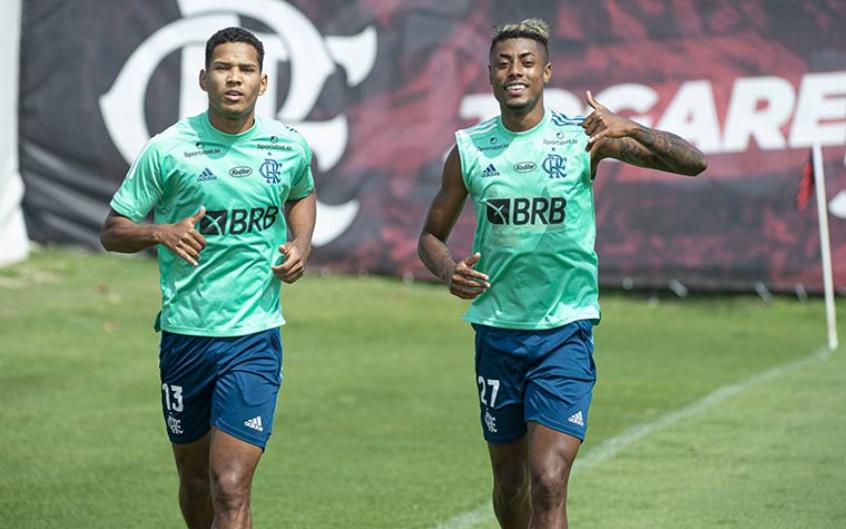 Em preparação para a Liberta, Flamengo vence jogo-treino contra o sub-20; Pedro é destaque