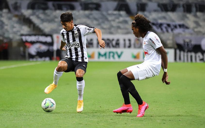 VIDEO) Atlético Mineiro rescató un punto contra el RB Bragantino | ECUAGOL