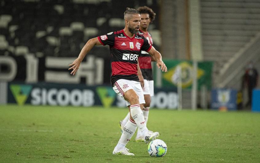 Diego Ribas lamenta empate do Fla: Faltou concluir as chances em gol