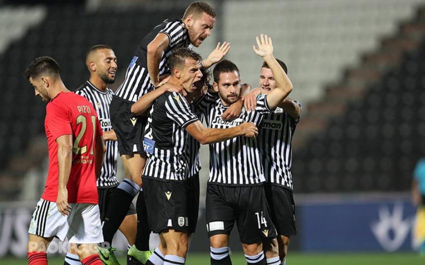 PAOK x Benfica - Comemoração