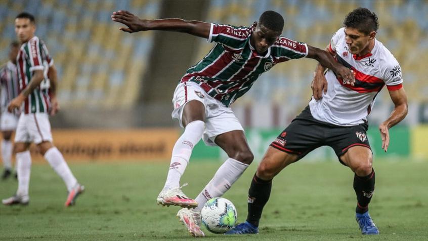 Luiz Henrique - Fluminense x Atlético GO