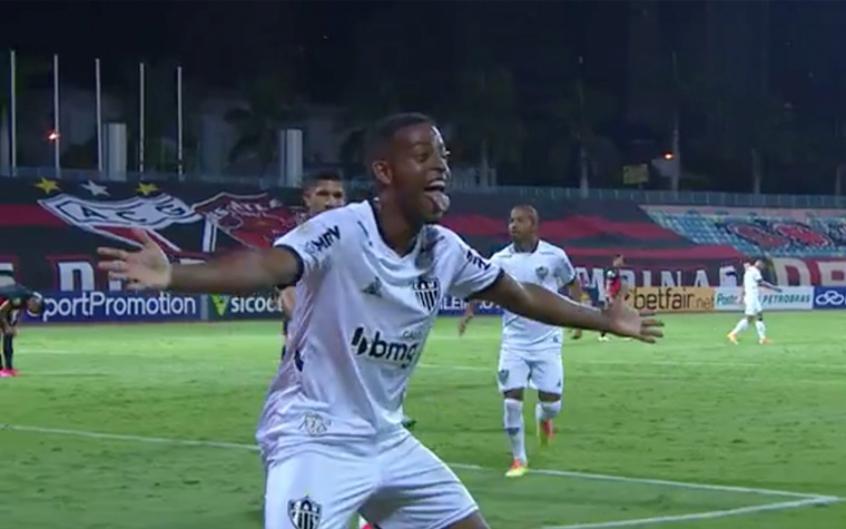 Com Tres Gols De Keno Galo Vence O Atletico Go E Vira Lider Do Brasileiro Lance