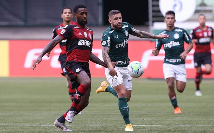 Flamengo escapa de multa por atraso em jogo contra o Palmeiras