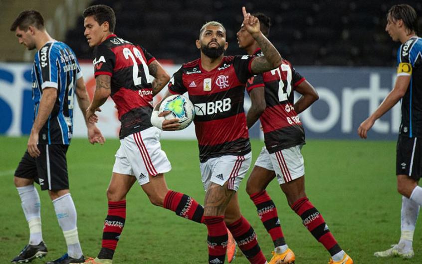 Flamengo pode voltar a ter trio de artilheiros após mais de um mês