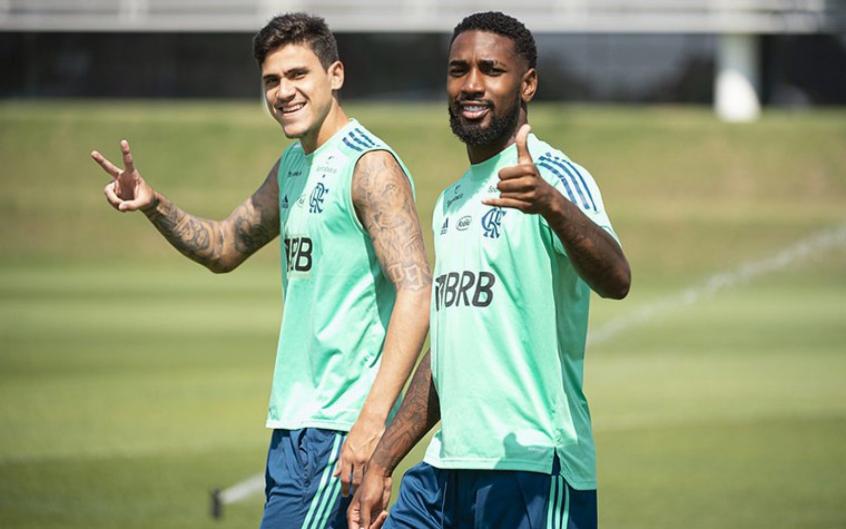 Flamengo finaliza prepara��o para enfrentar o Vasco; veja prov�vel escala��o