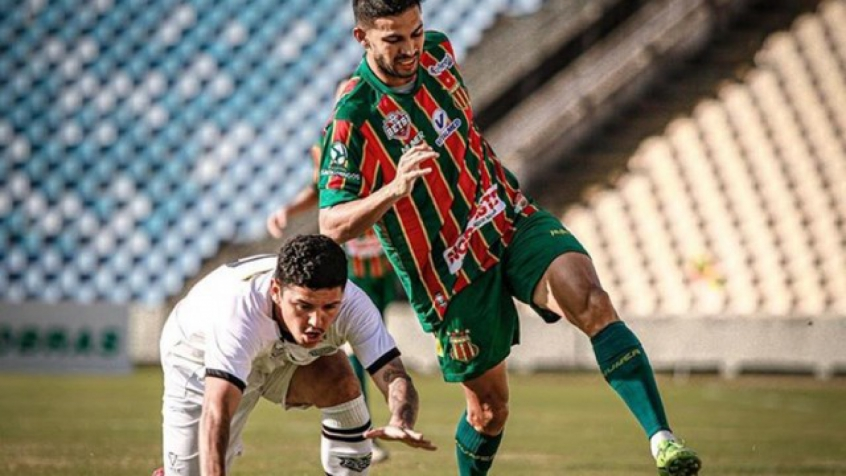 Na Serie B Sampaio Correa Goleia Figueirense E Vai Para A Primeira Metade Da Tabela Lance
