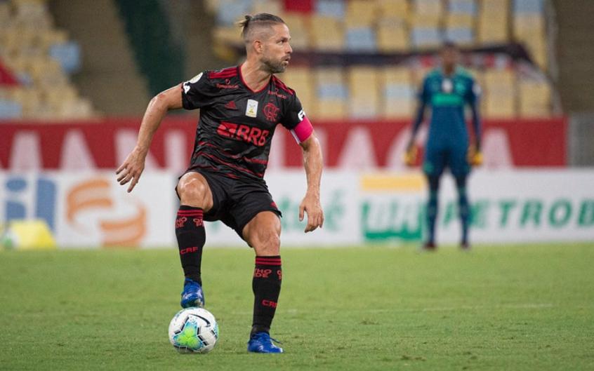 Diego tem lesão constatada e segue como desfalque no Flamengo