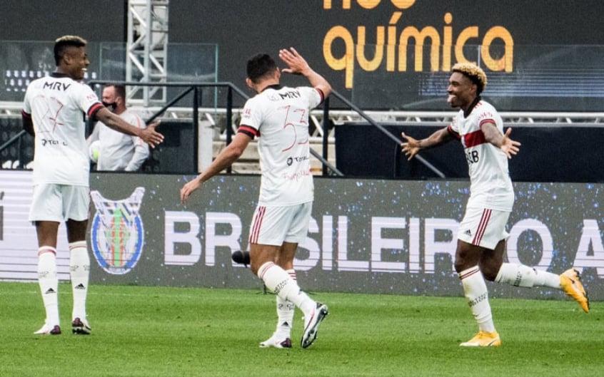 Comemoração Vitinho - Corinthians x Flamengo