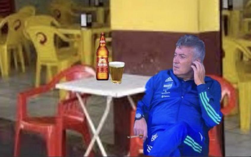 Posicionamento de Dome em goleada do Flamengo rende piadas nas redes sociais