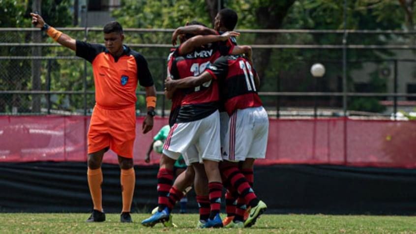 Flamengo goleia o Boavista por 6 a 1 pela Taça Rio
