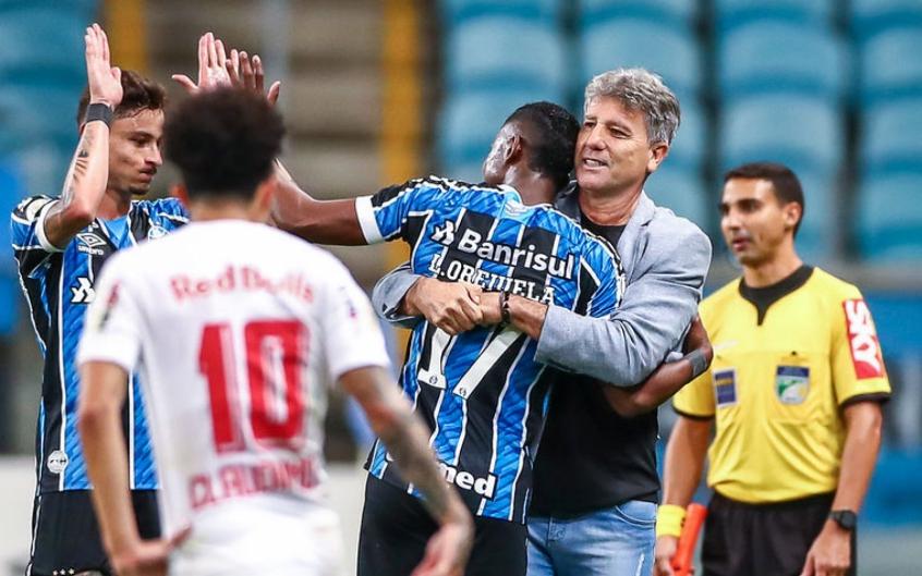 Orejuela e Renato Gaucho - Grêmio x RB Bragantino