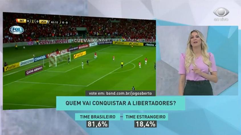 Renata Fan aposta em final repetida entre Flamengo e River Plate