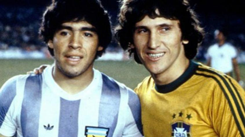 Maradona e Zico