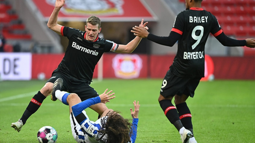 Bayer Leverkusen x Hertha Berlin