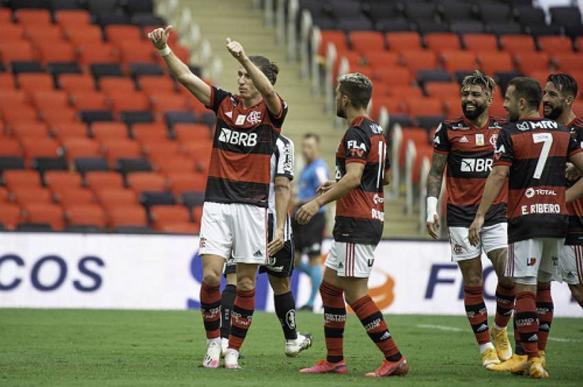 Flamengo marca um terço dos gols no Brasileirão no início do segundo tempo