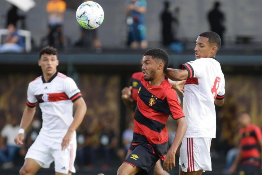 Flamengo vence o Sport fora de casa e fica mais perto de classifica��o da Copa do Brasil Sub-17