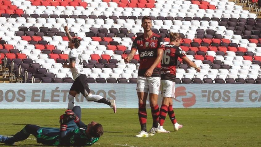 Ceará se defende bem, marca duas vezes e derrota o Flamengo no Maracanã