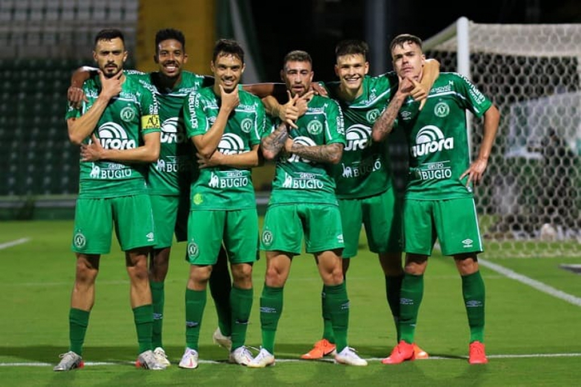 Chapecoense x Figueirense - Comemoração