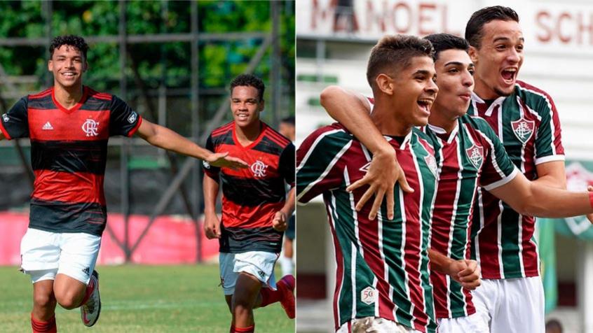 Flamengo e Fluminense iniciam duelo por vaga na final da Copa do Brasil Sub-17