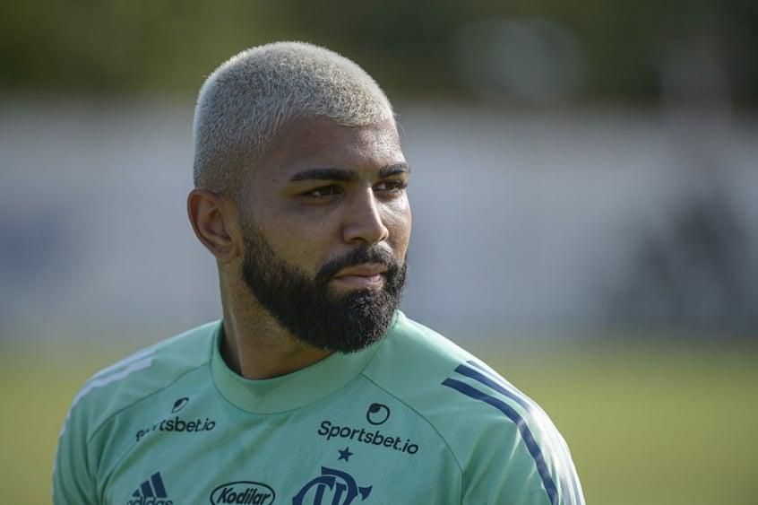 Gabigol sobre reserva no Flamengo: Incomoda muito. Eu não quero ficar no banco. Ninguém quer