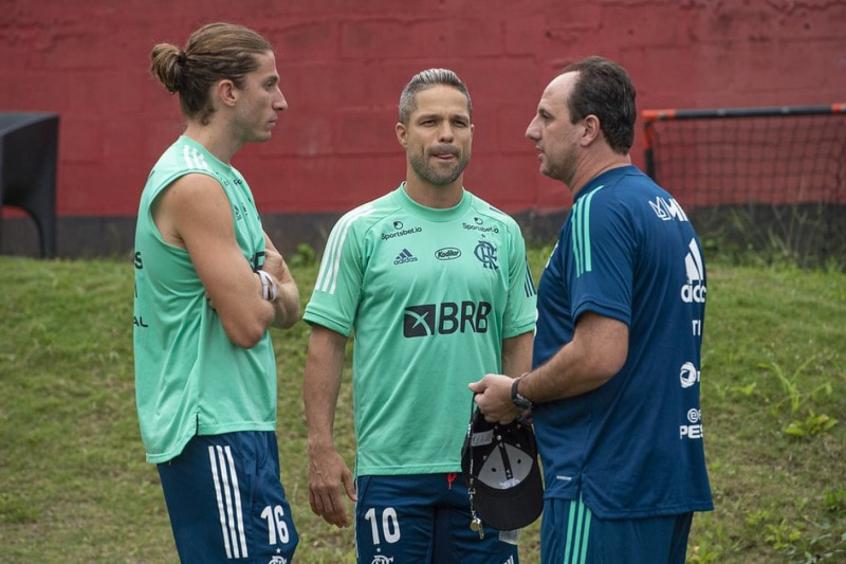 Rogério Ceni, Filipe Luís e Diego