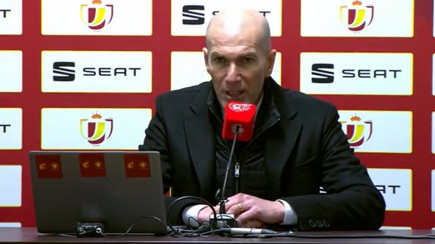 Zidane - Real Madrid - Coletiva