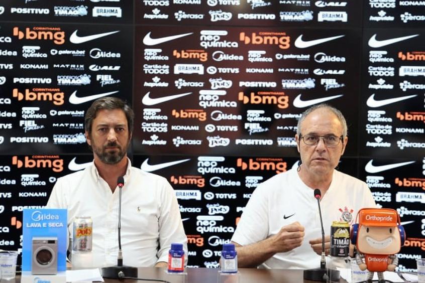 Duílio e Colagrossi garantem que Corinthians terá mais de R$ 100 milhões em patrocínios em 2021
