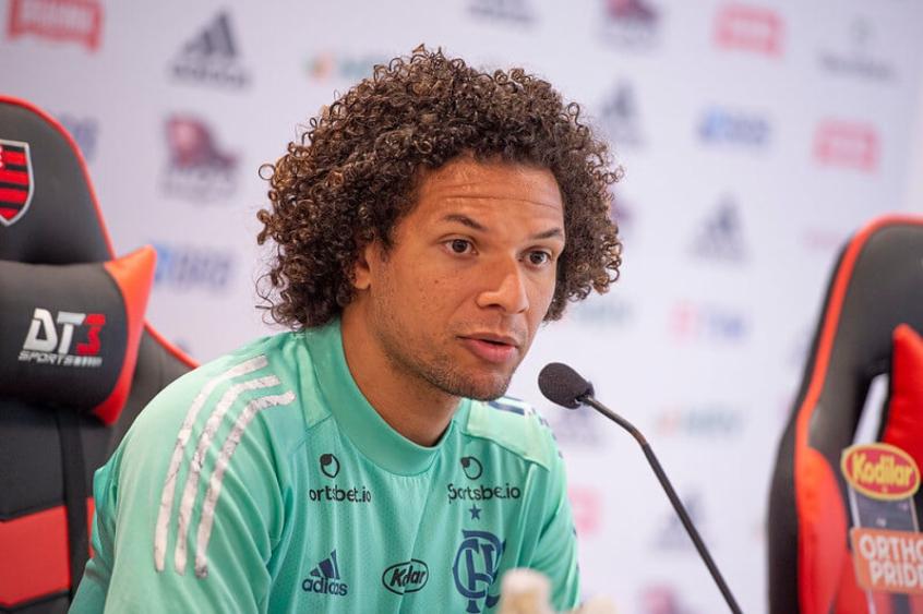 Willian Arão recebe alta e inicia tratamento com DM do Flamengo