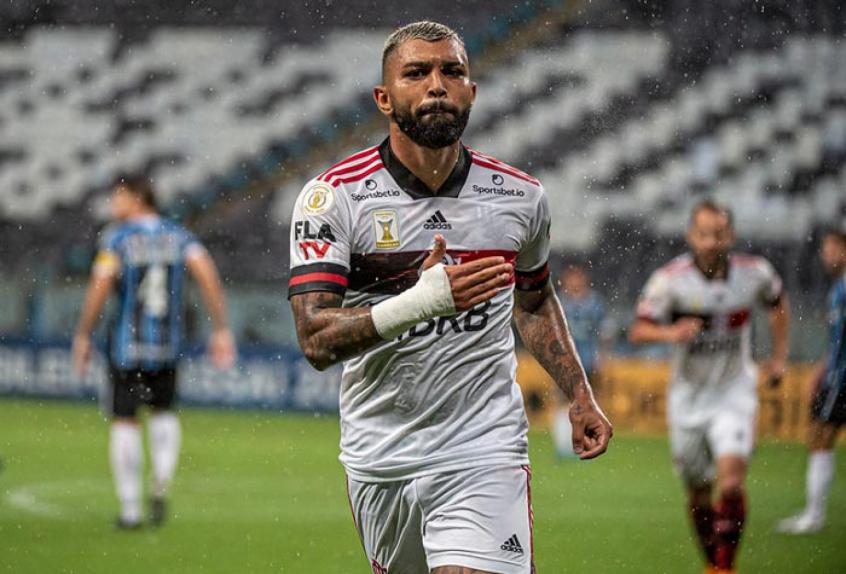 Flamengo se torna o melhor ataque do Brasileirão