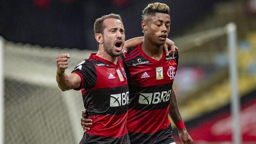 Bruno Henrique celebra 100º gol na carreira e 7º contra o Vasco: O apelido não é à toa
