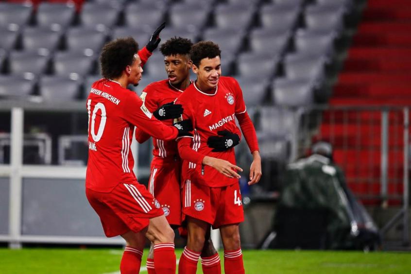 Time do Bayern que enfrentará a Lazio