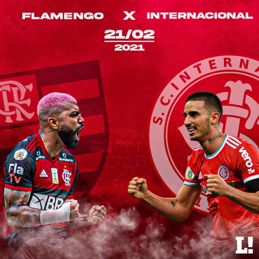 Artilheiros e candidatos a heróis de Flamengo e Internacional