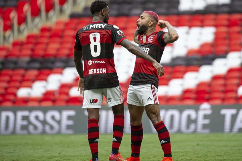 Com o melhor elenco do Brasil, Flamengo resolve e vira líder do BR