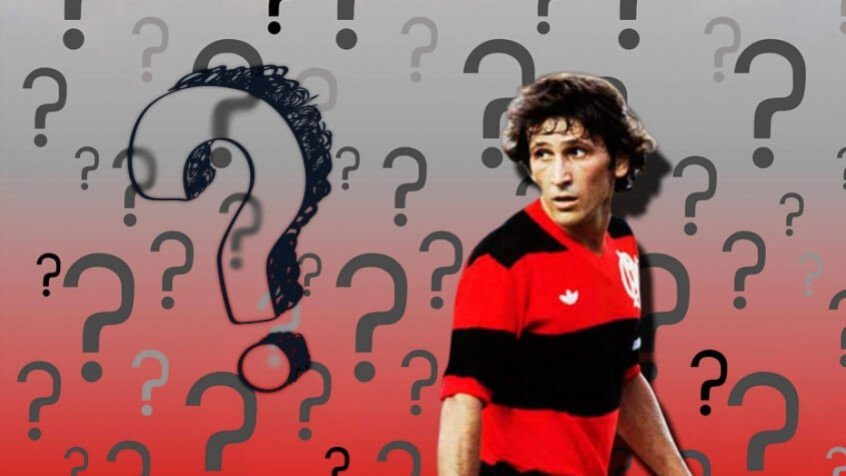 Curiosidades Zico - Flamengo