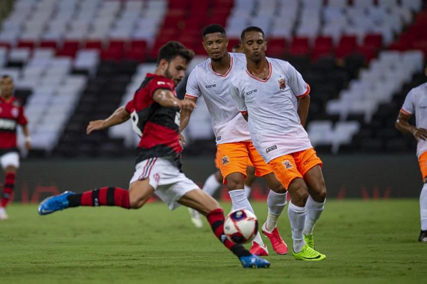 Daniel Cabral - Flamengo x Nova Iguaçu