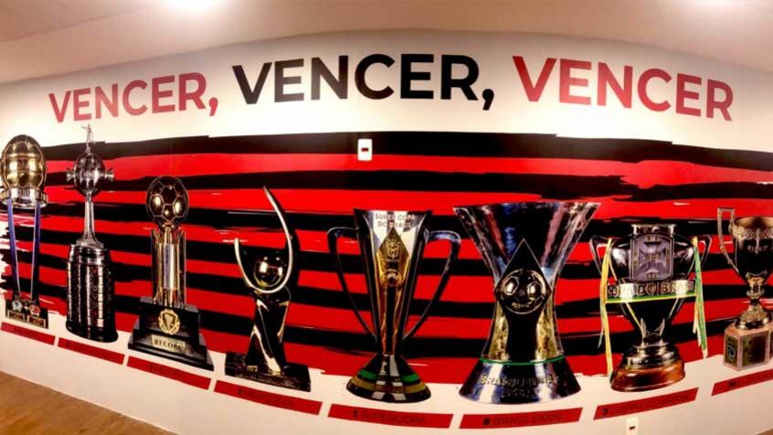 Parede de Títulos - CR Flamengo