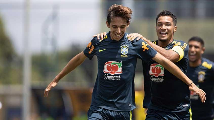 Jovens do Fla se destacam em goleada da Seleção Brasileira Sub-18