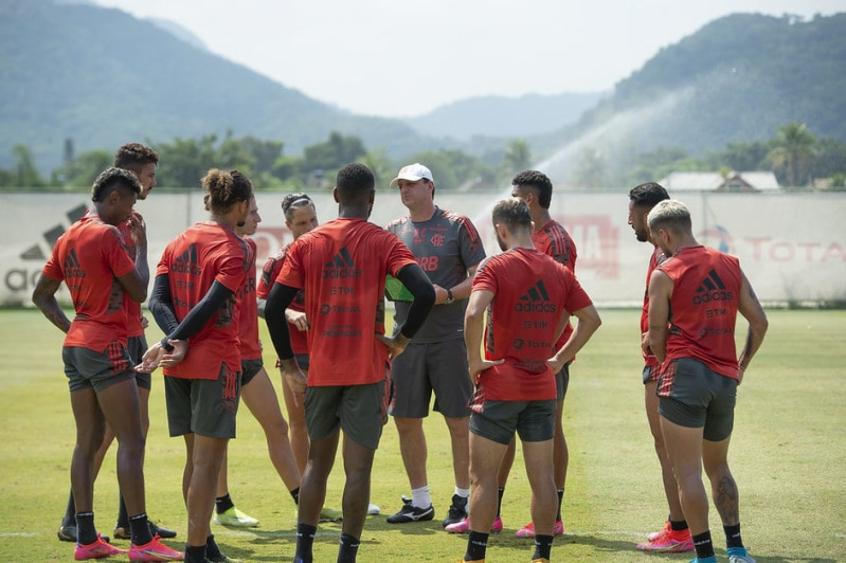 Rogério Ceni - Treino do Flamengo