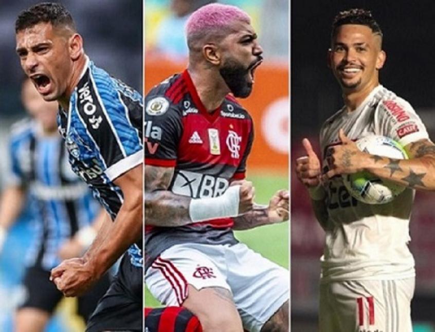 Flamengo, São Paulo, Grêmio e Atléticos começam a temporada com os ataques mais eficientes do Brasil