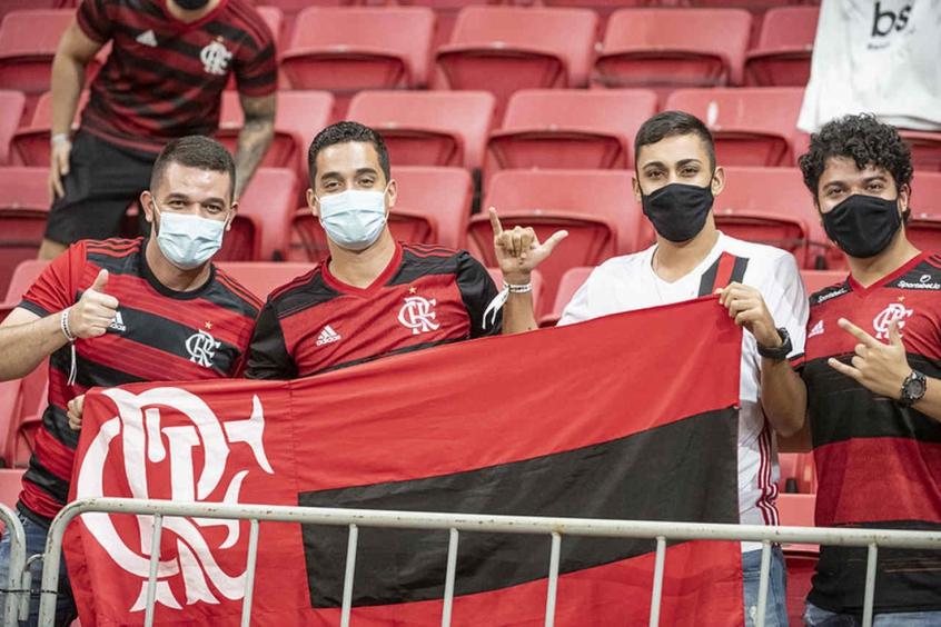 Torcida - Flamengo x Defensa y Justicia