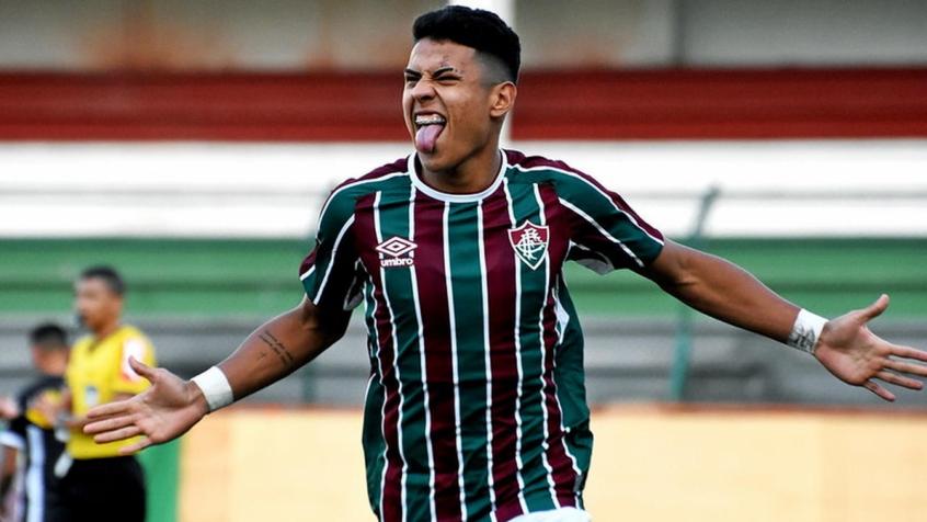 Matheus Martins - Fluminense x Figueirense Sub-23