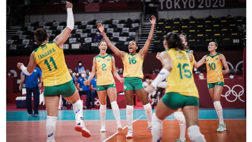 Com A Cabeca Na Russia Selecao Feminina De Volei Vence O Quenia Pelos Jogos Olimpicos De Toquio Lance