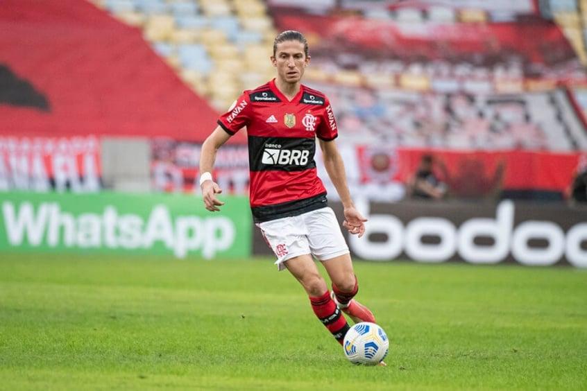 Serão poupados? Filipe Luís e Diego Alves são os titulares em maior sequência de jogos no Flamengo
