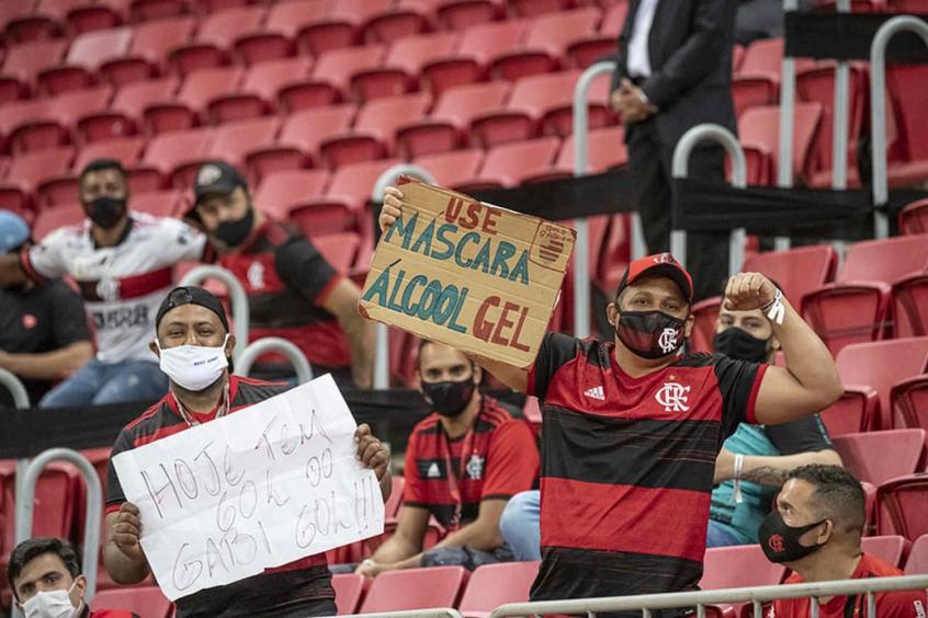 CBF afirma que vai recorrer da liberação de público nos jogos do Flamengo