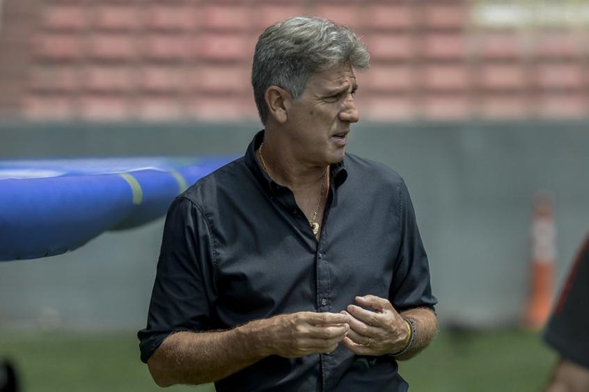 Renato mantém padrão Grêmio e desfigura Flamengo antes de semi da Liberta