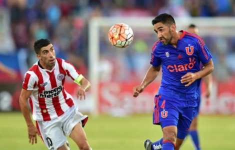 Universidad de Chile x River Plate do Uruguai