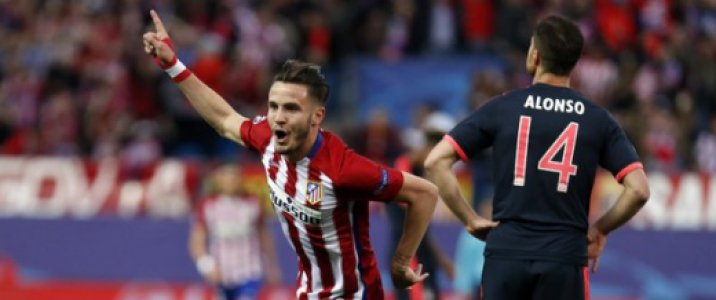 Saul Niguez - Atletico de Madrid x Bayern de Munique