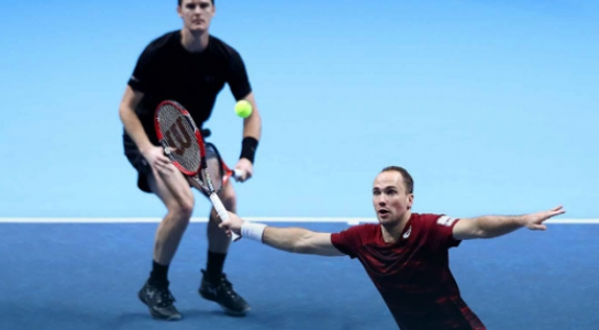 Bruno Soares e Jamie Murray no ATP Finals